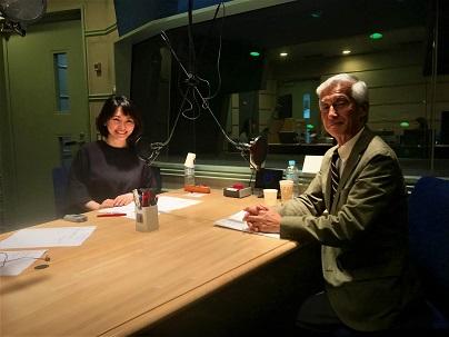横浜市立市民病院・炎症性腸疾患科部長の杉田昭先生と中澤有美子さん