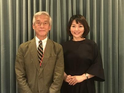 横浜市立市民病院の杉田昭先生と中澤有美子さん